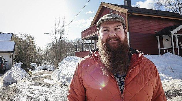 Står fram: Christoffer Lian er garantert ikke alene. Kanskje kan han ha hjulpet andre. Foto: Ulrikke G. Narvesen