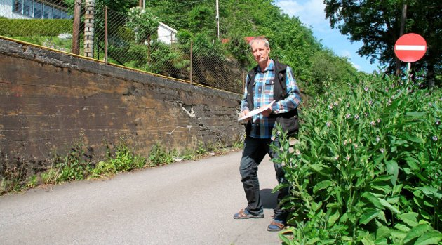 Lenge siden: Bjarke Anderson jobbet med 3k, men også med planer for fv. 900 i 2012. Foto: Pål Nordby