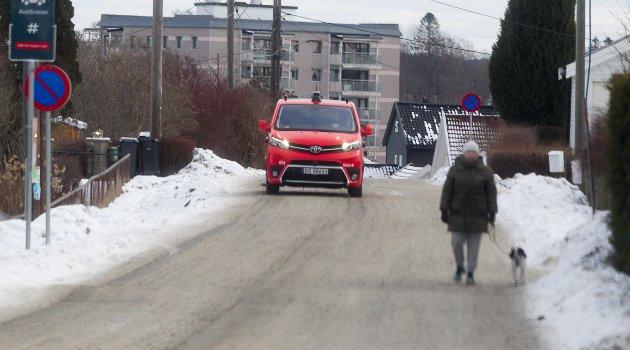 Ruters førerløse busser testes i Ski i vinter før de skal ut i ordinær trafikk.