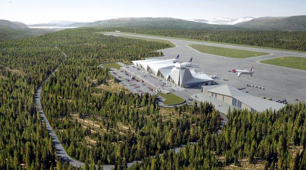 Arne J. Alte skriver i leserbrevet at Rana kommune burde lært av Terra-saken og ikke satt en ny pengeplassering uten sikkerhet i storflyplass på Hauan.