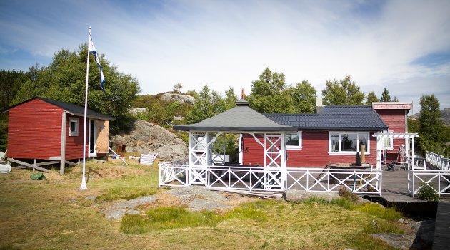 Dette er ei hytte i Meland, får interesseorganisasjonen til hytteeigarane det som dei vil kan denne hytteeigaren stemma ved val i Alver kommune i framtida.