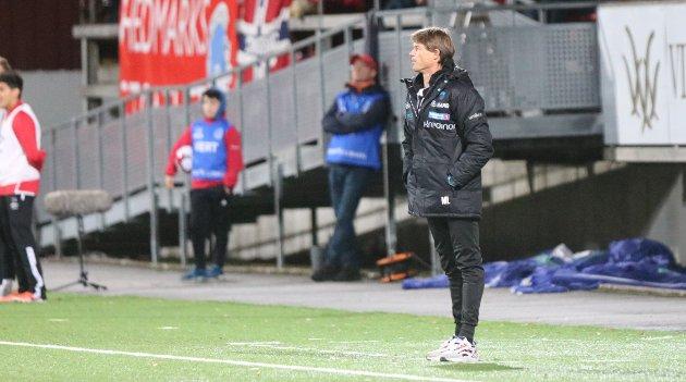 I HARDT VÆR: KIL-trener Mika Lehkosuo.