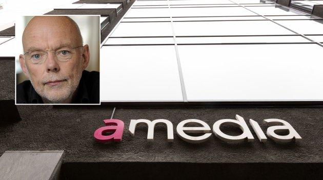PRESSEN: Amedia har gått med rundt en halv milliard kroner i overskudd de siste årene. Direktørens siste og største bekymring er at pandemien kan redusere inntektene. Så hvordan kunne jeg komme på «profitt?», skriver Gunnar Tore Larsen.