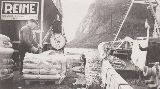 Kirkfjordlaks på Reine.