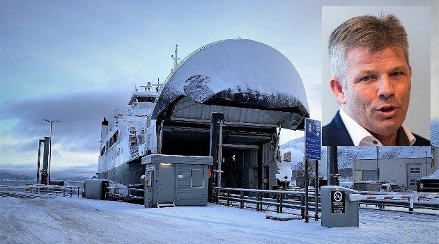 Ap-nestleder Bjørnar Skjæran skriver at det for Ap er viktig at målet skal være halvering av billettprisene på fergene, og at staten skal ta regninga.