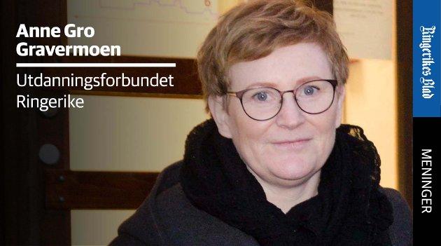 PÅ TID: – Vi mener det er på tide at Folkehelseinstituttet og regjeringen anerkjenner barnehagelærerne og de andre ansatte i barnehagen, skriver Anne Gro Gravermoen.