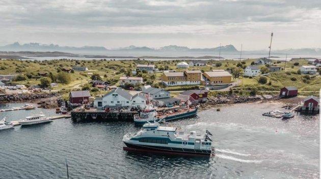 Saken om oppdrettsanlegg i Helligvær er omstridt i lokalsamfunnet.