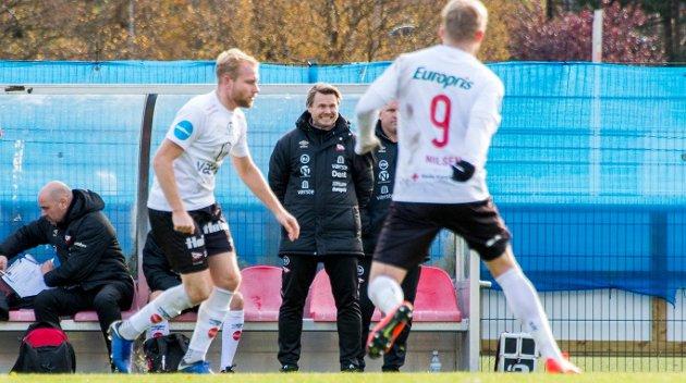 """FFKs poengsnitt i høstsesonen var lavere enn i vårsesongen. Bjørn """"Bummen"""" Johansen må konstatere at det ikke ble opprykk, selv med Henrik Kjelsrud Johansen som forsterkning."""