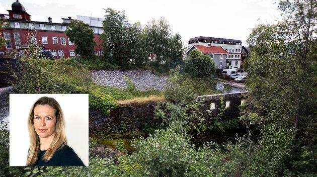 TERRASSEN: Penger bør ikke styre byutviklingen i Lillehammer. Terrassen er en del av en større satsing på en grønn åre gjennom byen. Lillehammer trenger politikere som tenker langsiktig for byens beste.