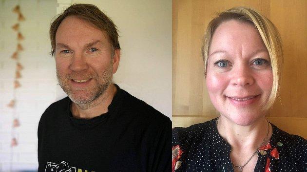 Ronald Slemmen og Marthe Lang-Ree