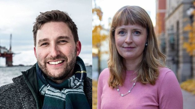 Forfatterne Truls Olufsen-Mehus og Ingelin Noresjø