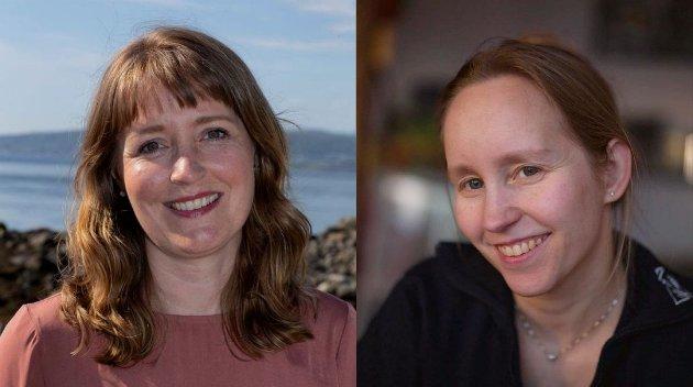 Ingelin Noresjø og Gitte Hansen ønsker kontantstøtte for eldre.