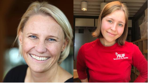 Maria Karine Aasen Svensrud og Emma Tokle Brobakke
