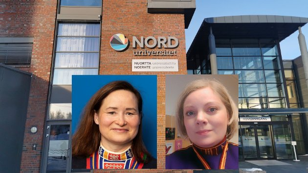 Anette Langås Larsen og Astri Dankertsen ved Nord universitet ønsker en offensiv samisk satsning.