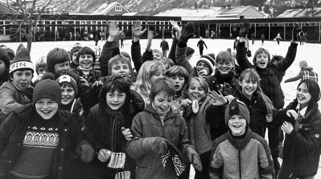 Førde barneskule 1983.