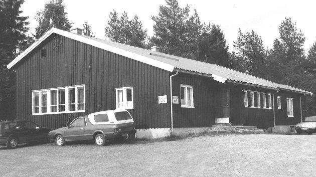 Harestua samfunnshus 29/8 1990