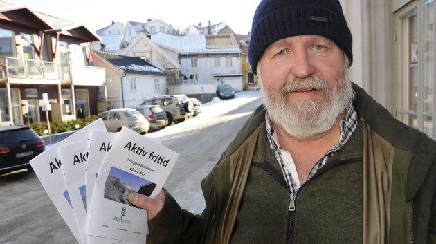 Willy Nilsen er verneombud i Kragerø kommune. (Arkivfoto)