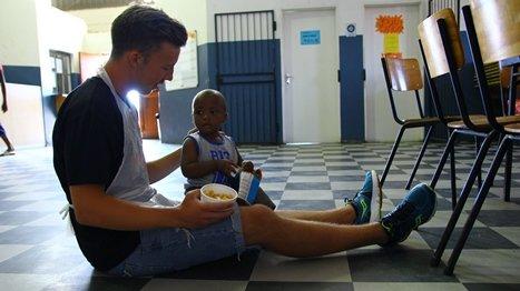 Elever og lærere fra Kirkeparken var på reise i Sør-Afrika. Å møte menneskene i Townshipene gjorde størst inntrykk.