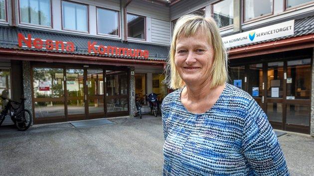 Nesna-ordfører Hanne Davidsen er på topp for Arbeiderpartiet i kommunevalget til høsten. I Nesna kommune er det fem parti som kjemper om innbyggernes stemmer.