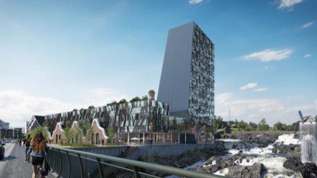 OMSTRIDT: Debatten rundt det planlagte høyhuset ved Lloyds marked og byutviklingen i Hønefoss fortsetter.