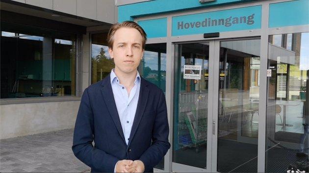 Andreas Bøe, 8. kandidat for Sarpsborg Høyre. (Foto: Privat)
