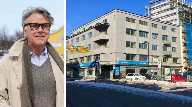 Arkitekt Thorvald Bernhardt mener Egenesgårdens tekniske forutsetninger er ikke slik at dagens krav og forskrifter. – Den tillater ikke en fornuftig utvikling, skriver han.
