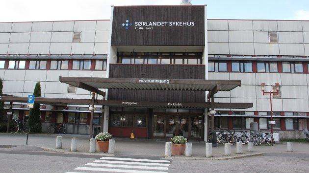 YTRING: Sørlandet sykehus, Kristiansand.