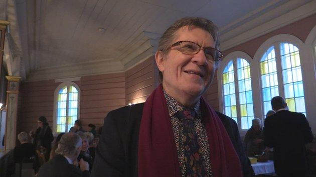 Komponisten Sverre Eftestøl fra Kvinesdal.