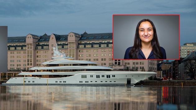 RIKDOM: Yachten Lady Lara ligger til kai ved Havnelageret i Oslo. Båten er på sin jomfrutur og tilbrakte en natt i hovedstaden. Bildet er fra 2015