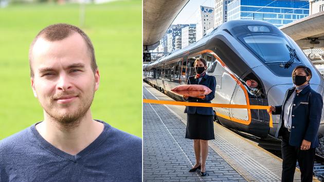 FLYTOG: Løsningen her er like enkel som den er åpenbar: Flytoget må integreres i det vanlige togtilbudet, skriver Axel Klanderud.