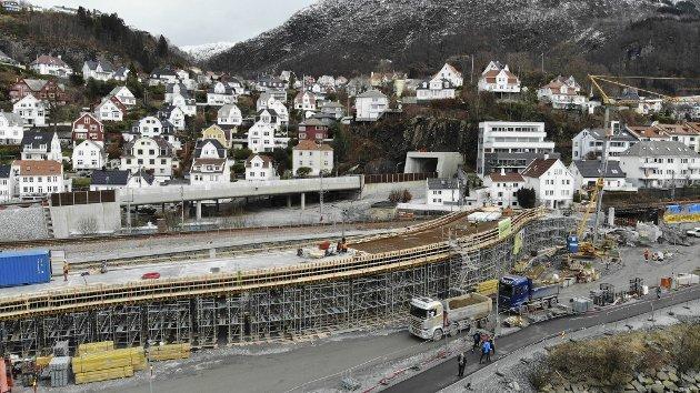 Statens vegvesen svarer på kritikken om sykkelbroen i Fløen. Foto: Arne Ristesund