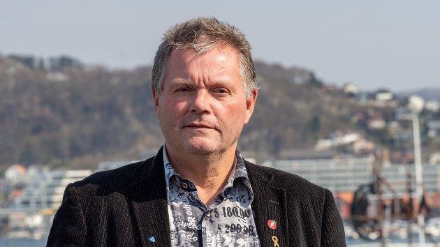 Bærekraftighet: Stein Flom-Jacobsen er gruppeleder for Kvitsøy Frp.