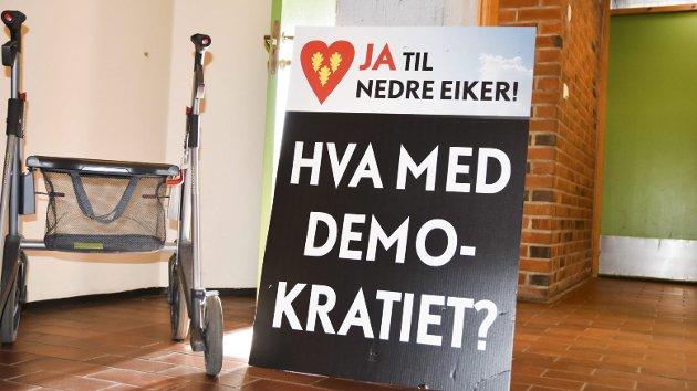 STIFTET: For Nedre Eiker ble formelt en organisasjon 7. juni 2018.