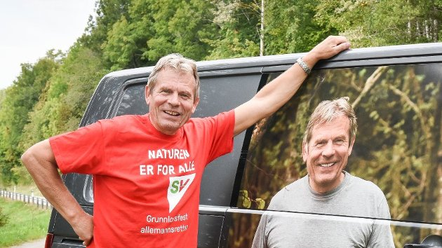 – IKKE SELG! Arne Nævra (SV) ble høsten 2017 valgt inn på Stortinget.