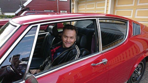 PÅ VILLE VEGAR: Den bilfiendtlege politikken til parti som MDG på stoppe, skriv Am Car-entusiast Hilberg Ove Johansen.