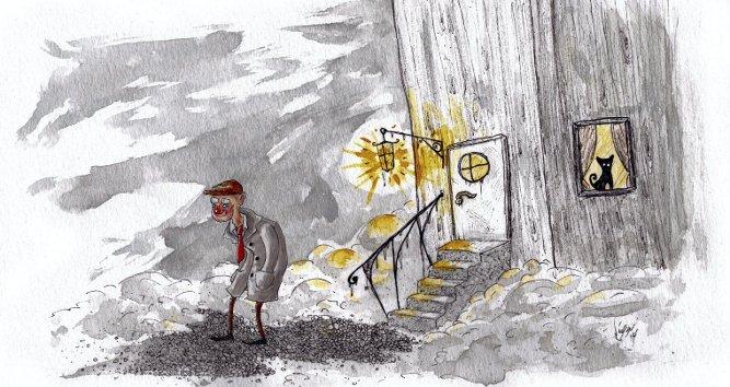 Tegning: Viggo Balder Andersen