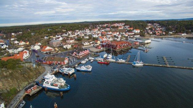 Skjærhalden, Hvaler kommunes administrasjonssenter. Paul Henriksen mener tiden er inne for at Hvaler ikke lenger skal være egen kommune.