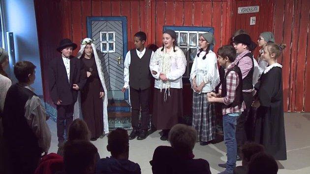 Kjølberg skole setter i disse dager, for tiende gang, opp skuespillet skrevet av Klaus Hagerup.