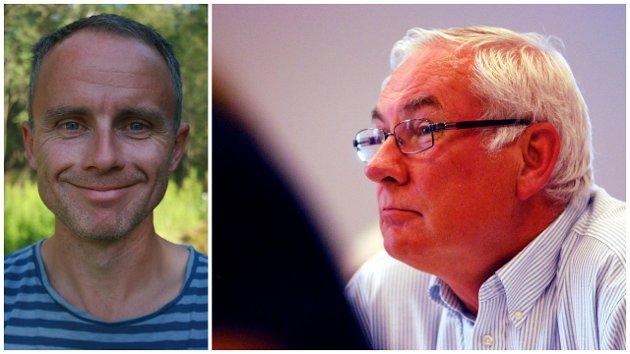 MDG og Erik Skauen (til venstre) har ikke monopol på miljø- og klimarettet politikk, skriver Tor Prøitz.