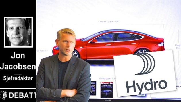 Northvolt, ledet av den tidligere Tesla-toppen Peter Carlsson, og Hydro investerer 100 millioner i Fredrikstad. Det er en anselig næringslivsnyhet sett med lokale øyne.