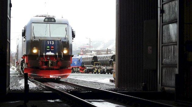 JOBBER FOR JERNBANE: Hilde Sagland jobber aktivt for at hele Nord-Norge skal få jernbane.