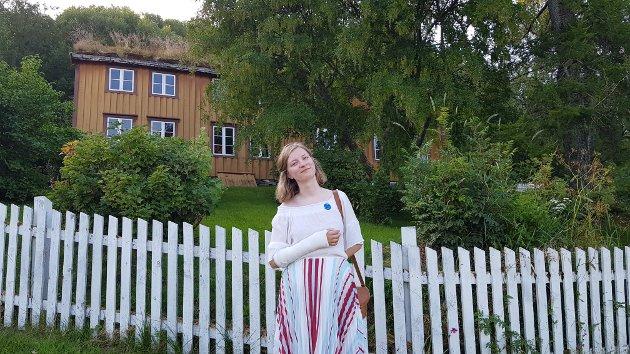 Vilde Øines Nybakken, sykmeldt journalist på bedringens vei.