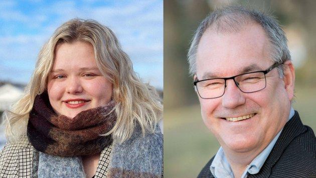 INNSENDERNE: Camilla Maria Brekke og Arild Theimann fra Ap er stortingskandidater for Vesfold valgkrets.