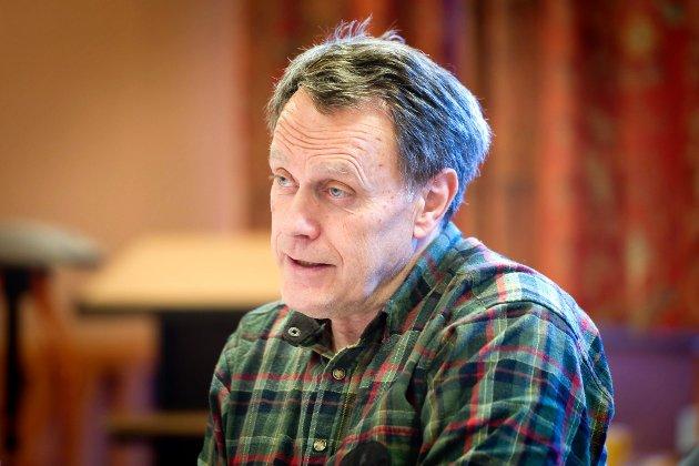 STILLER: Varaordfører Helge Thomassen stiller som toppkandidat igjen.