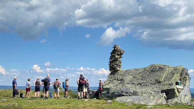 Åstkjørkja (1061 moh.), lett tilgjengelig på Øyerfjellet.