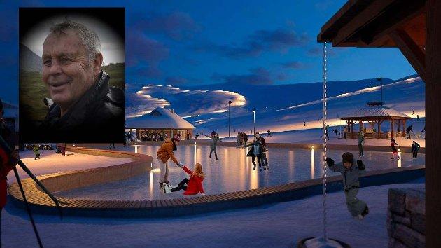 Rørande semje: Det ser ut som det er rørande semje mellom dei politiske partia i Eidfjord, påpeiker Olav Tveita.  Illustrasjon: Eidfjord Resort
