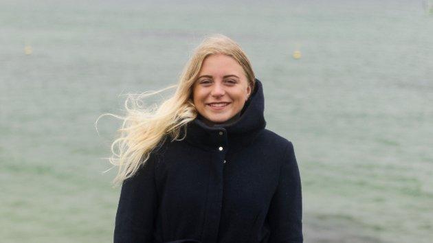 Magnhild Johannessen Botten. 6.kandidat for Rødt på Karmøy. Foto: Kristine Stray