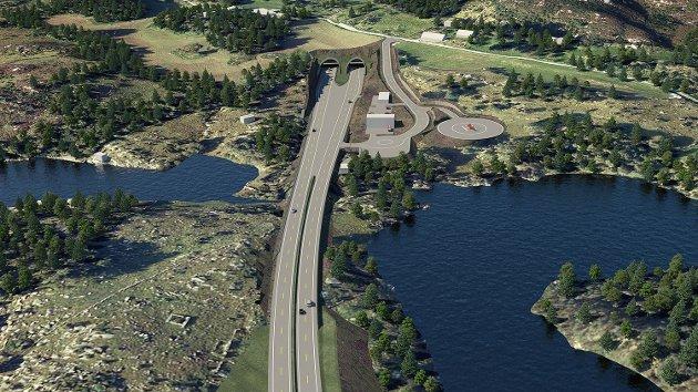 SIKRET: Regjeringen sikrer finansiering av verdens lengste undersjøiske tunnel-prosjekt.