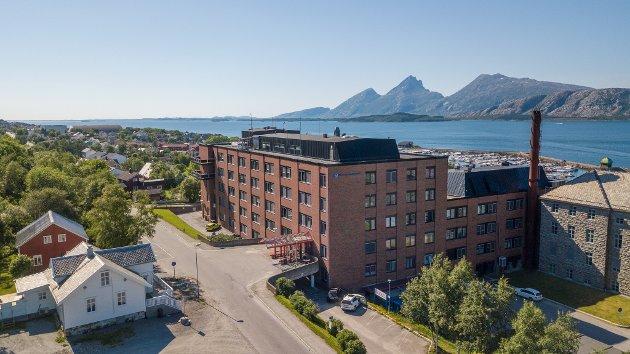 SYKEHUS: Helgelandssykehuset, her fra lokasjonen i Sandnessjøen.