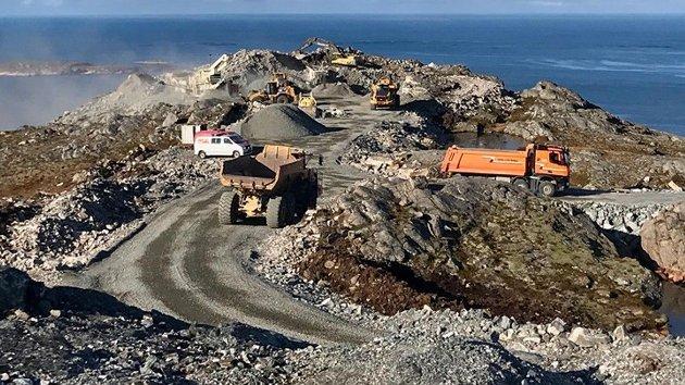Vindkraft er en kostbar og lite effektiv energiteknologi som også påfører natur, samfunn og miljø store skader. Her fra Harbaksfjellet i Namdalen 2019.